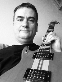 Timothy Daniel with Vantage VP-795 Guitar